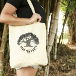 "Australian made reusable eco bag range ""Bundle Tote Small"" Tree"