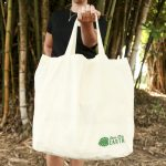 "Australian made reusable eco bag range""Bundle Tote Large SH"" Leaf"