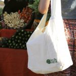 "Love Thy Earth's Australian made reusable eco bag range ""Bundle Tote Large LS"" Leaf"