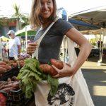 "Love Thy Earth's Australian made reusable eco bag range""Bundle Tote Large LS"" Tree"