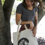 "Love Thy Earth's Australian made reusable eco bag range""Bundle Tote Large SH"" Tree"