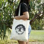 "Love Thy Earth's Australian made reusable eco bag range""Bundle Tote Small"" Tree"